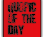 Quopic of the Day – May 25th