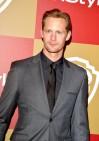 Alexander Skarsgård makes the rounds at the Golden Globeparties