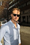 'True Blood' star Alexander Skarsgard out and about in New York City