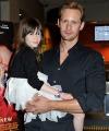"""Alexander Skarsgård Attends LA Times Screening of """"What MaisieKnew"""""""
