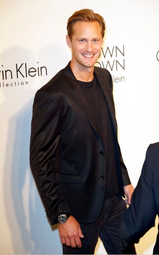 Celebrity arrivals at Calvin Klein Collection post show event in NYC