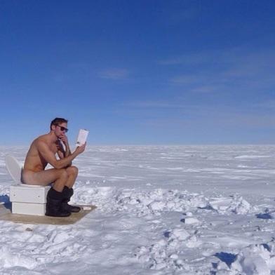 skars in Antartica