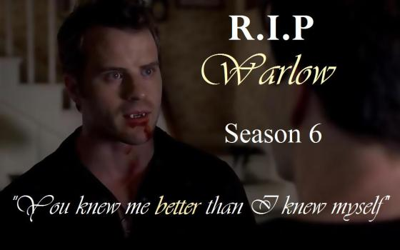 Yes I liked Warlow and this storyline could have been aces!